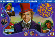 Willy Wonka And The Chocolate Factory 40th Anniversary New Blu-ray And Dvd Combo Set