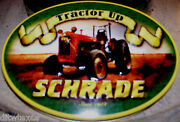 Schrade Knife Tractor Up Series Large Barlow Tractor Shield New W/gift Tin Nice