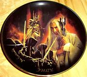 The Lord Of The Rings Calendar Adventure July Bradford Exchange Plate