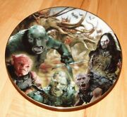 The Lord Of The Rings Calendar Adventure March Bradford Exchange Plate