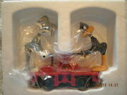 18416 Bugs Bunny And Daffy Duck Handcar New In Box