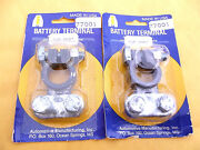 12 Pcs Universal,heavy Duty Lead , Battery Cable Ends,carded ,made In Usa