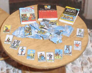 Dollhouse Miniature Halloween Tarot Cards And Books 112 Scale H32 Dollys Gallery