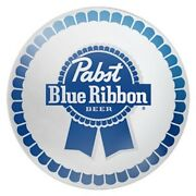Pabst Blue Ribbon Medallion Badge 80mm Beer Tap Faucet Tower Handle Collector