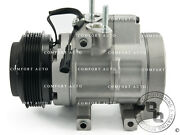 New Ac A/c Compressor With Clutch Air Conditioning Pump Vehicles With Rear A/c
