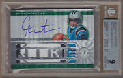 11 2011 Totally Certified Emerald Cam Newton 3c Jsy Patch Auto Rc /5 Bgs 9 Mint