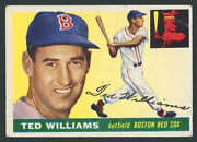 1955 Topps 2 Ted Williams Solid Hq High-end Very Good-ex+ To Excellent Condition