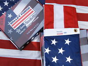 Commercial Grade- Valley Forge Us American Flag 3'x5' Sewn Nylon -100 Usa Made