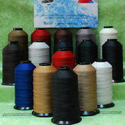 T90 92 Bonded Nylon Sewing Thread For Upholstery Outdoor Shoes Leather Car Seat