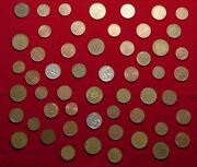 Lot Of 55 Coins From Germany - L@@k Great Starter Set