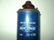 6v Ign Coil Tractor 47-55 Ford And Fd Truck 49-55 Mercury Lincoln 55 Tbird Fd470x