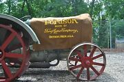 Fordson Tractor Model F Cover - Detroit Mich. 1923 Andndash 1928