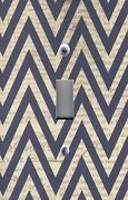 Light Switch Plate Switchplate And Outlet Covers Chevron - Black And Brown Newsprint