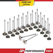 Intake Exhaust Valves For Acura Legend Rl Tl 3.2 And 3.5l Sohc C32a1 C35a1 C32a6