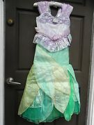 Disney Limited Edition Little Mermaid Ariel Costume Dress Size 10  2500 Made