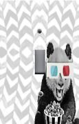 Light Switch Plate Switchplate And Outlet Covers Movie Night Panda 3d Glasses