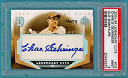2004 Sp Legendary Cuts, Charlie Gehringer Auto Issue Cg Psa 9 Tigers Pop 2