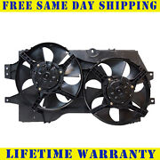 Radiator And Condenser Fan For Dodge Grand Caravan Plymouth Voyager Ch3115104