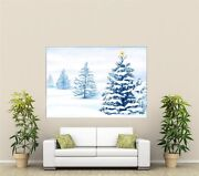 Xmas Holidays Giant 1 Piece Wall Art Poster H113