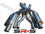 Srs Type-r1 Catback Exhaust Systems 05-10 Dodge Charger Srt8 6.1 V8