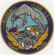 1952-1953 Japanese-made Korean War Us Navy Vc-3 Cag-9 Patch