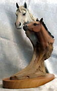 Neil J. Rose Well-bred 295/2500 Pican Wood Sculpture