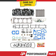 85-95 Toyota 22r 22re 22rec Complete Cylinder Head + Head Gasket Set Head Bolts