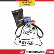 Timing Belt Kit Water Pump Valve Cover Gasket For 90-95 Acura Integra B18a1 / B1