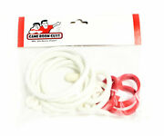 Evel Knievel Home Version Pinball Machine Replacement Rubber Ring Kit White