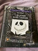 Nightmare Before Christmas Anniversary Edition 2dvd Andrare Setchbook
