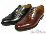 Loake 202 Frame Sewn Leather Shoes Budapest Shoe Trees Goodyear Welted