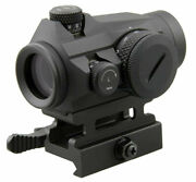 Vector Optics 1x22 Tactical Red Dot Sight - Qd Riser Mount And Low Profile Base G2