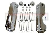 Sbf 289 302 351w 5.0 Chrome Engine Dress-up Kit Valve Covers Small Block Ford