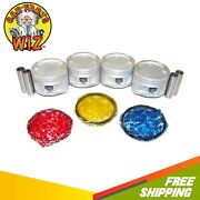 Pistons And Rings Fits 87-91 Toyota Camry Celica 2.0l Sohc 16v 3sfe
