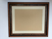 Buy Drect - 36mm Walnut And Gold Picture Frames With Picture Mounts