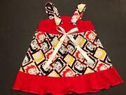 Betty Boop Baby Infant Toddler Girls Dress You Pick Size