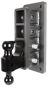 Gen-y Bolt/weld-on Hitch, 2.5 Receiver, 9 Drop, Class V, 21k Towing Gh-724