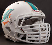 Miami Dolphins Nfl Riddell Speed Football Helmet With Big Grill S2bdc-ht-lw