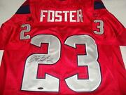 Arian Foster Signed Houston Texans Jersey - Tristar Authenticated - Pro Bowl Rb