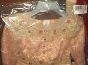 Authentic Disney Store Deluxe Aurora Costume Dress 5/6 ,tiara,and Shoes 12/1