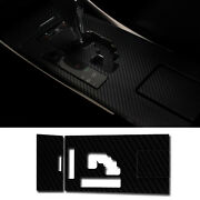 Gear Panel + Consol Cover Carbon Decal Sticker For Lexus 2006 - 2013 Is250 Is300