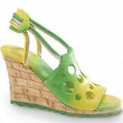 Just The Right Shoes - Holey Slide Signed Shoe 25586