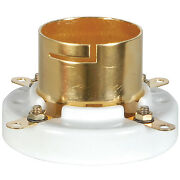 2pcs 1 Pair Gold Plated Tube Sockets For 845 211 805 Western Electric Vt4c