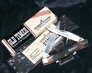 Schrade 77ot Knife Old Timer Usa Made W/packaging,papers Tactical Hunting Knives
