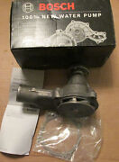 New Nos Bosch 97245 Water Pump With Gasket Professional Quality Built To Last
