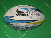 Huddersfield Giants 2014 Squad Signed Brand New Rugby Ball - Sixteen Autographs