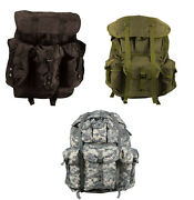 Rothco Gi Style Large Military Camo Alice Pack With Frame
