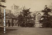 Antique Photo Winchester Cathedral