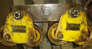 Manning Maxwell And Moore Inc. Budgit I-beam Trolley Cap. 2000lbs A8 18490lr