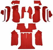 Carpet Kit For 1990-1993 Chevy Corvette Coupe Complete Kit With 2 Latch Cutouts